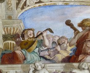 Giovanni Battista Carlone  (1603–1684). Genova, Palazzo Ducale.