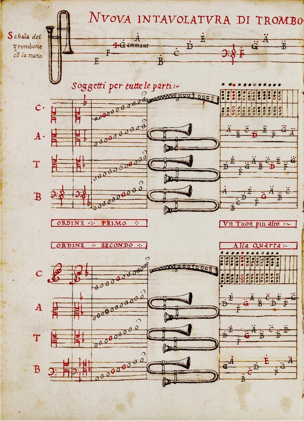 Aurelio Virgiliano, Il Dolcimelo, Ms. ca. 1600. Museo internazionale e biblioteca della musica di Bologna.