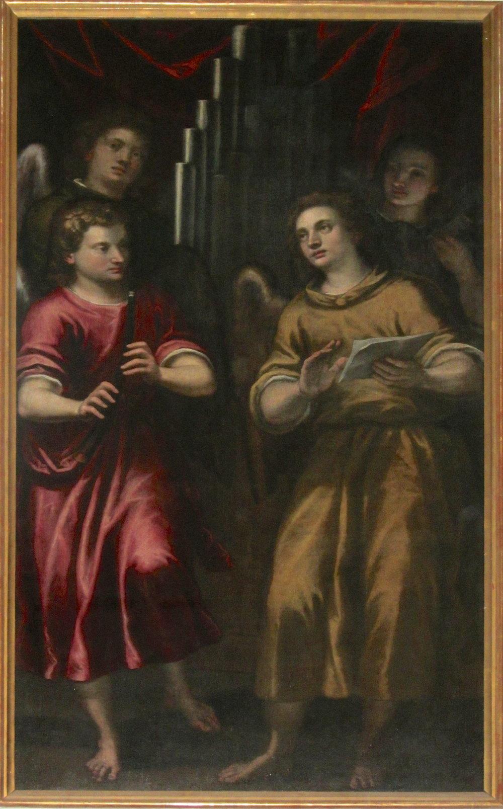 Alessandro Maganza (1556–1630), Angel Musicians