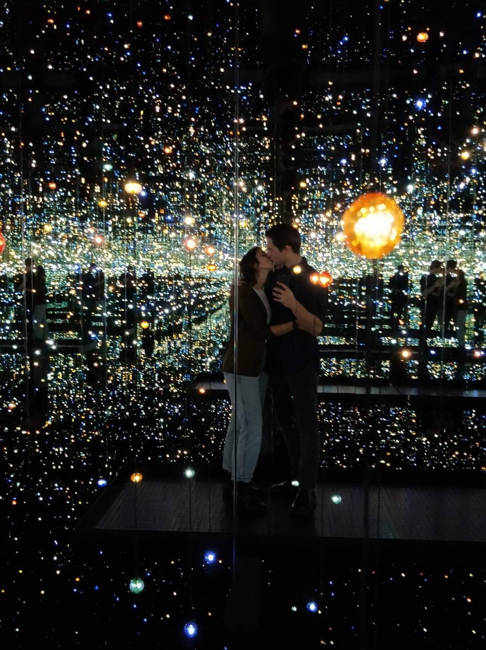 Yayoi Kusama's Infinity Mirrors