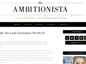 The Ambitionista May 2015