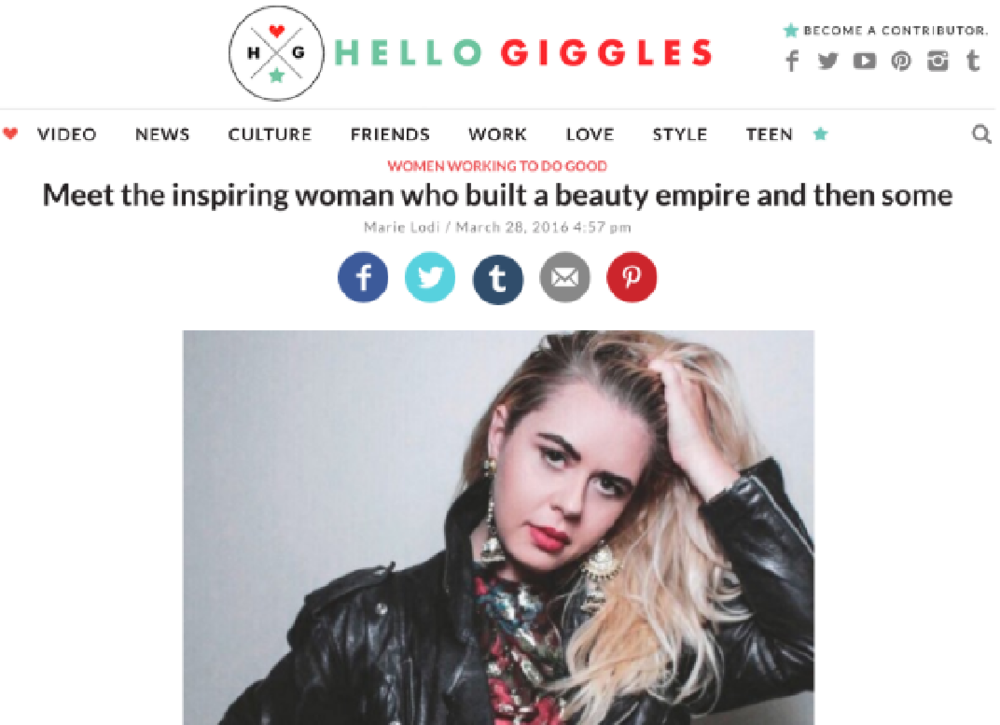 Hello Giggles March 2016