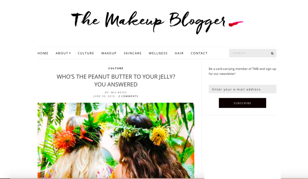 The Makeup Blogger June 2016