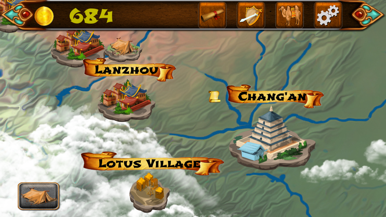 XEZI: A Silk Road Adventure is updated to version 1.2 Image
