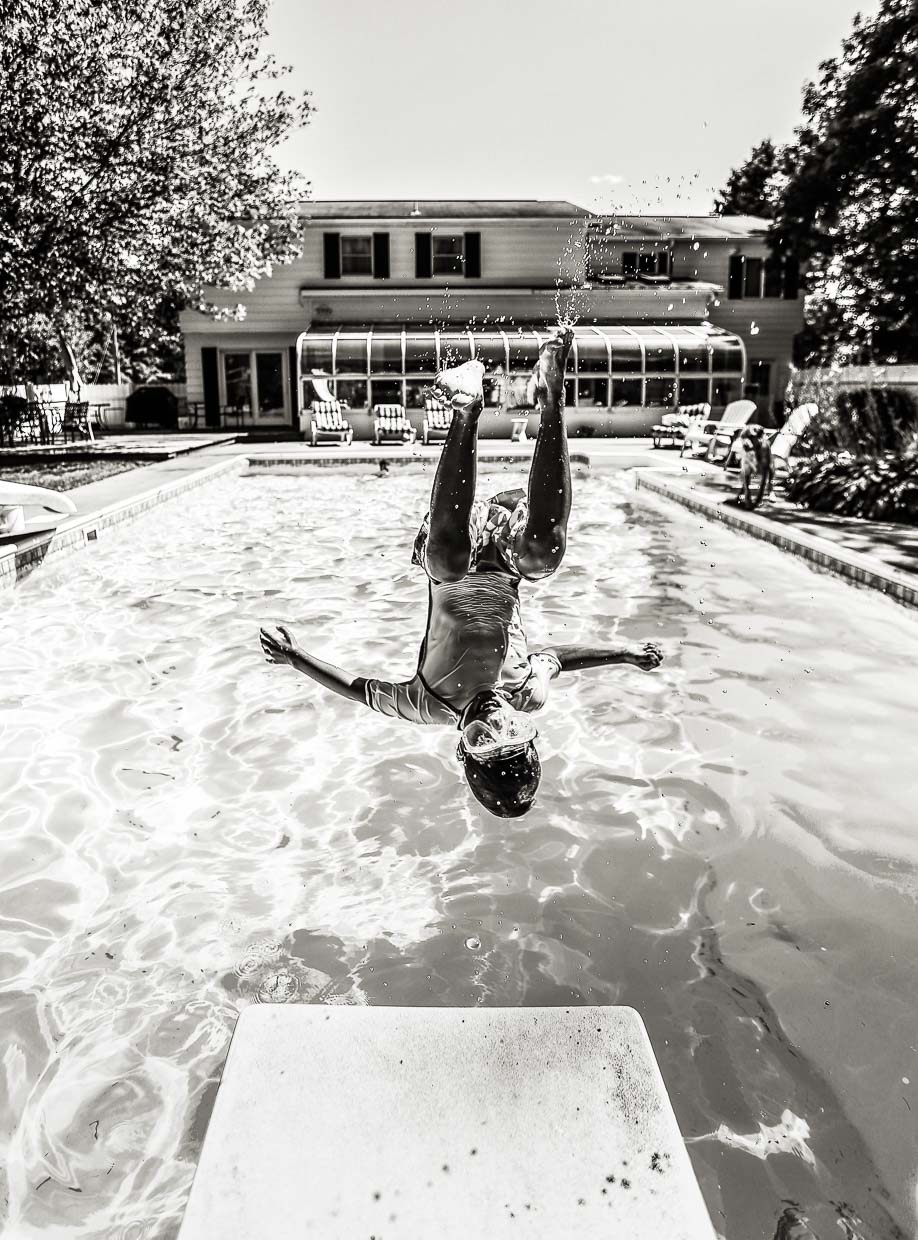 flippin' off the diving board (finally)
