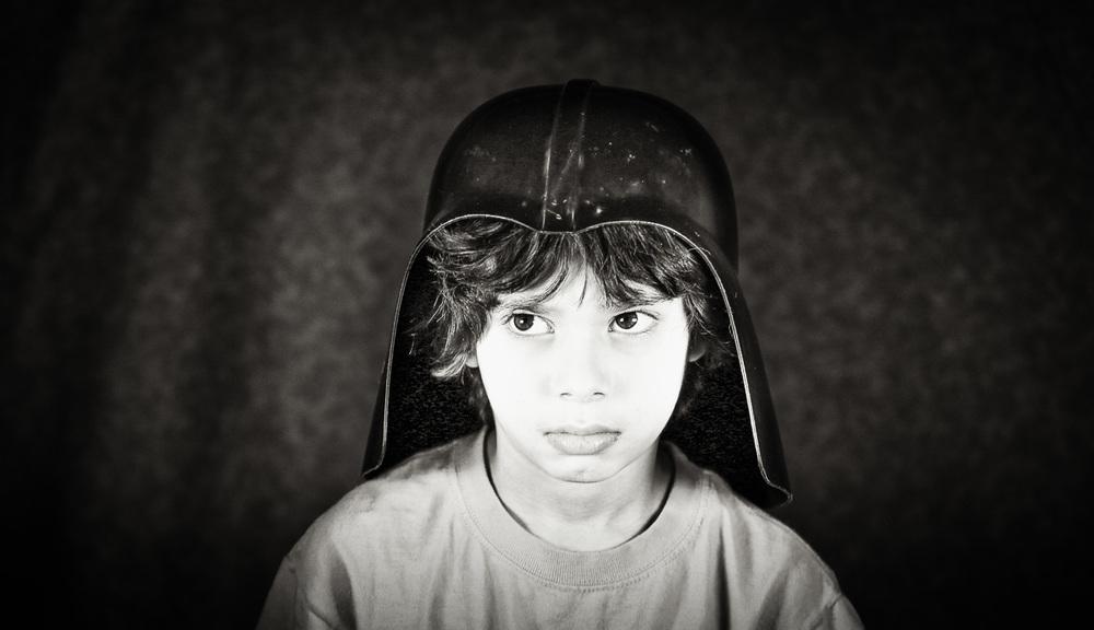 Sad-faced Dark Helmet (Dec. 2015)