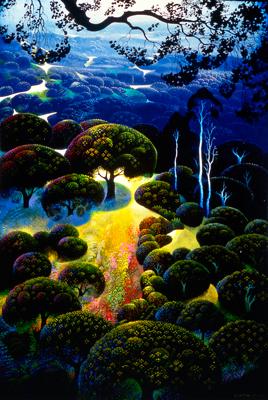 Golden Meadow by Eyvind Earle