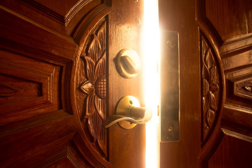 if stepping into the Grace Habit is like opening a door and stepping through - what are we stepping through - into?
