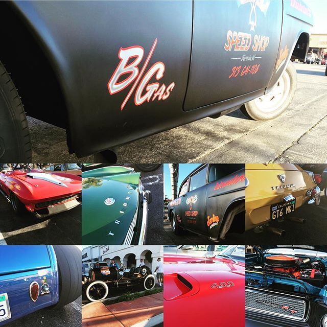 Met an enthusiast friend at Donut Derilicts in Huntington Beach early this am for some great inspiration. #vintagecar #racecars #hotrodsandmusclecars #motorcycles