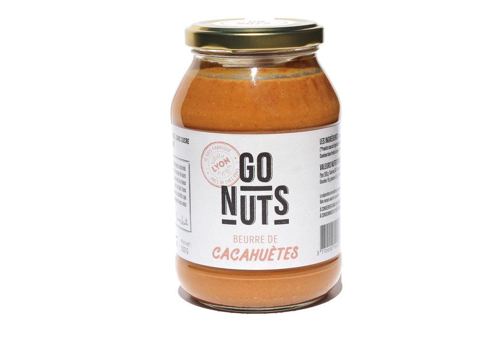 Beurre de cacahuètes -