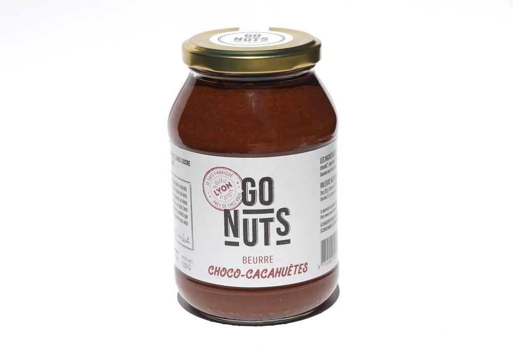 beurre choco-cacahuètes -