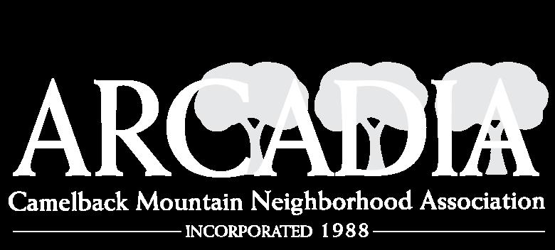 Newsletter — Arcadia Camelback Mountain Neighborhood Association
