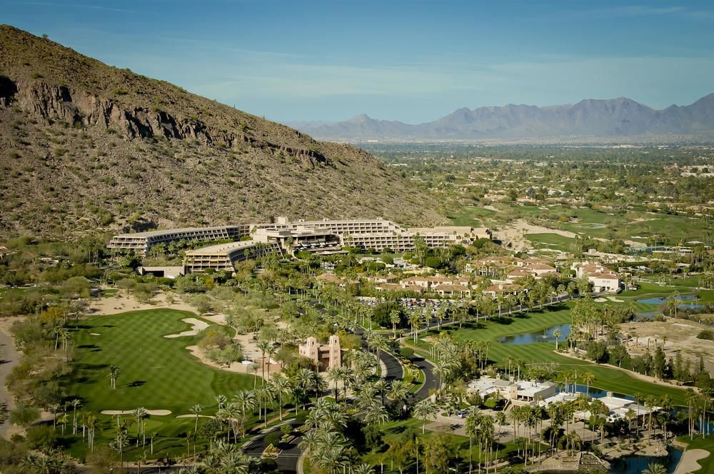 The expansive Phoenician property covers 311 acres within Arcadia