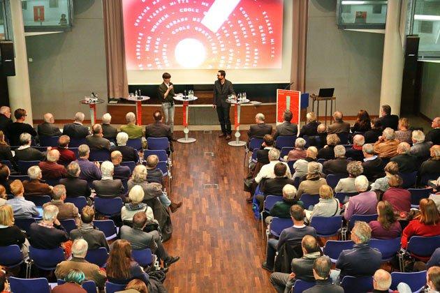 Finale - Moderatorenteam Jeannette Merker und Dr. Markus Nollert, Quelle: Stadt Karlsruhe