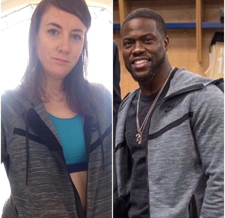 Who Wore It Best?! Lisa Hannam or Kevin Hart