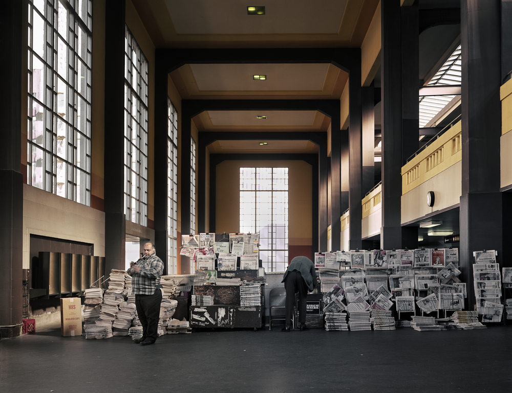 Transbay Terminal Newsstand, 1982 Archival Pigment Print, 2016 16 x 20 inches, edition of 5 20 x 24 inches, edition of 2 30 x 40 inches, edition of 2