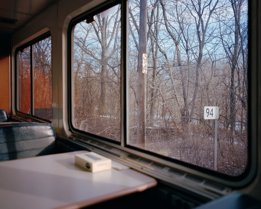 McNAIR EVANS  Empire Builder 46005,  2013 Archival Pigment Print Available sizes 40 x 50 inches, ed. 3 + 1AP 32 x 40 inches, ed. 5 + 1AP 20 x 25 inches, ed. 5 + 1AP