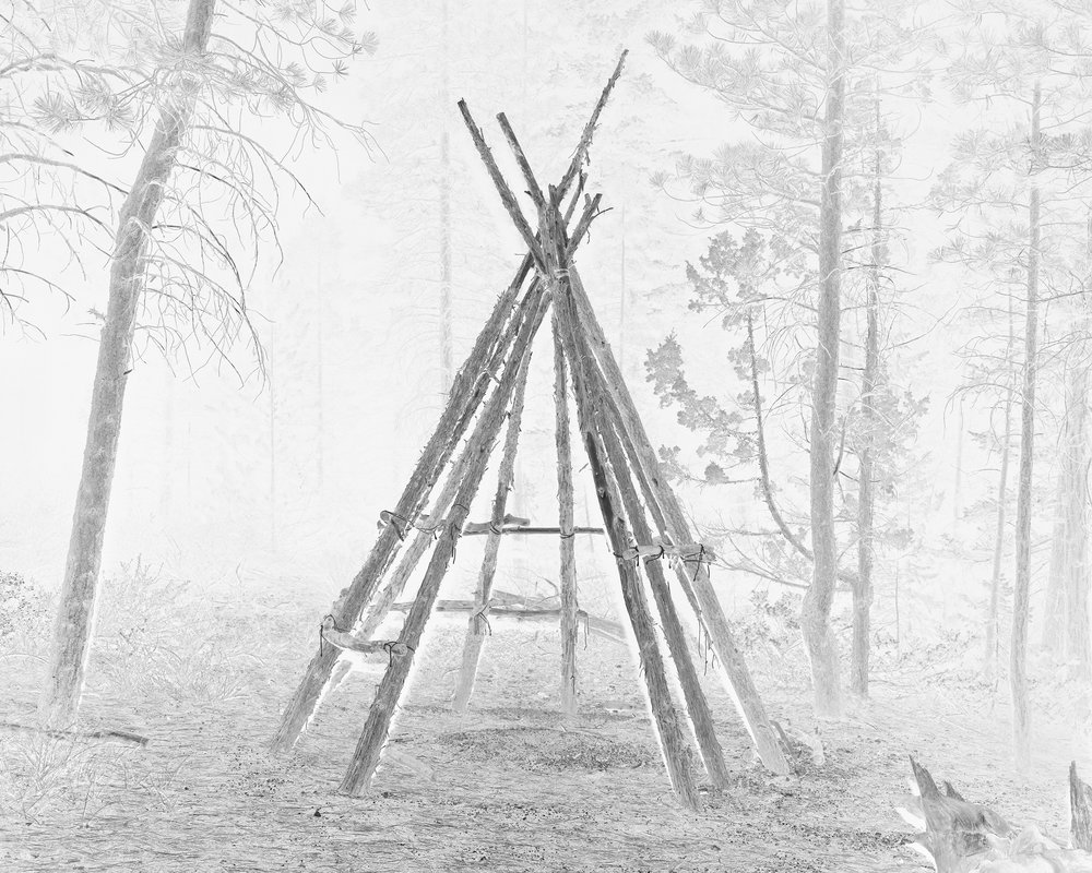 MICHAEL LUNDGREN  Shelter, 2012  Gelatin silver print  Available sizes 32 x 40 in, ed. 7 + 1AP