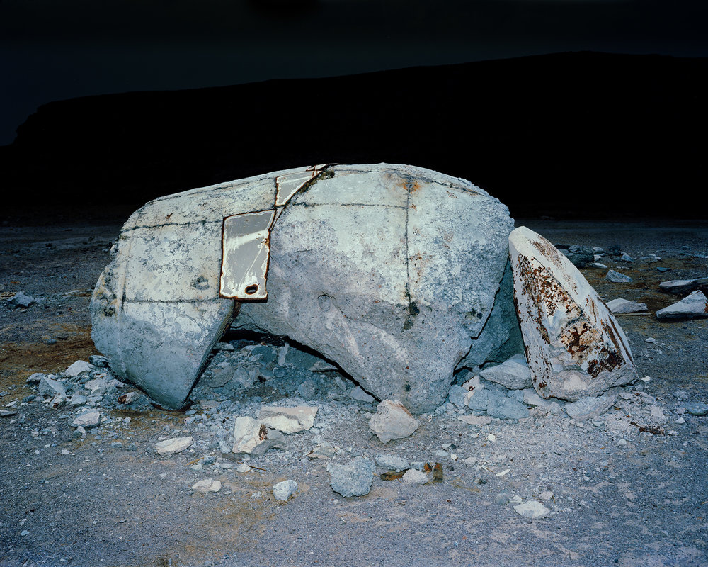 MICHAEL LUNDGREN  Salvage, 2012  Archival pigment print  Available sizes 32 x 40 in, ed. 7 + 1AP