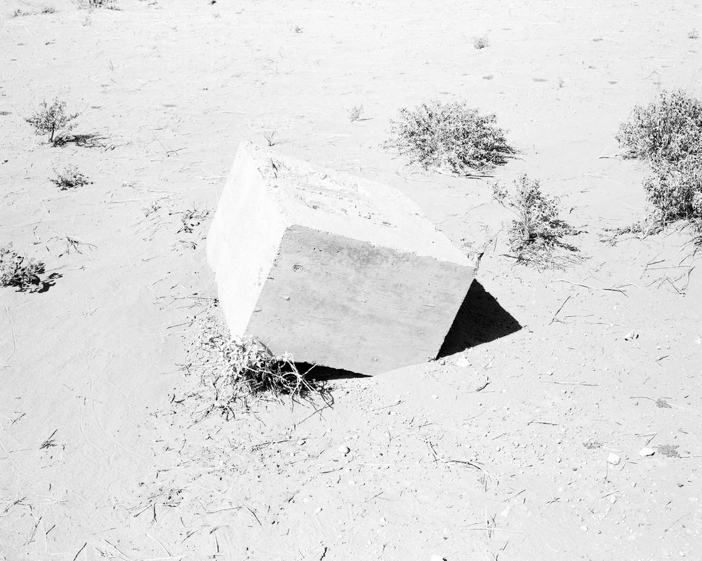 MICHAEL LUNDGREN  Platonic Solid, 2009  Gelatin silver print  Available sizes 32 x 40 in, ed. 7 + 1AP