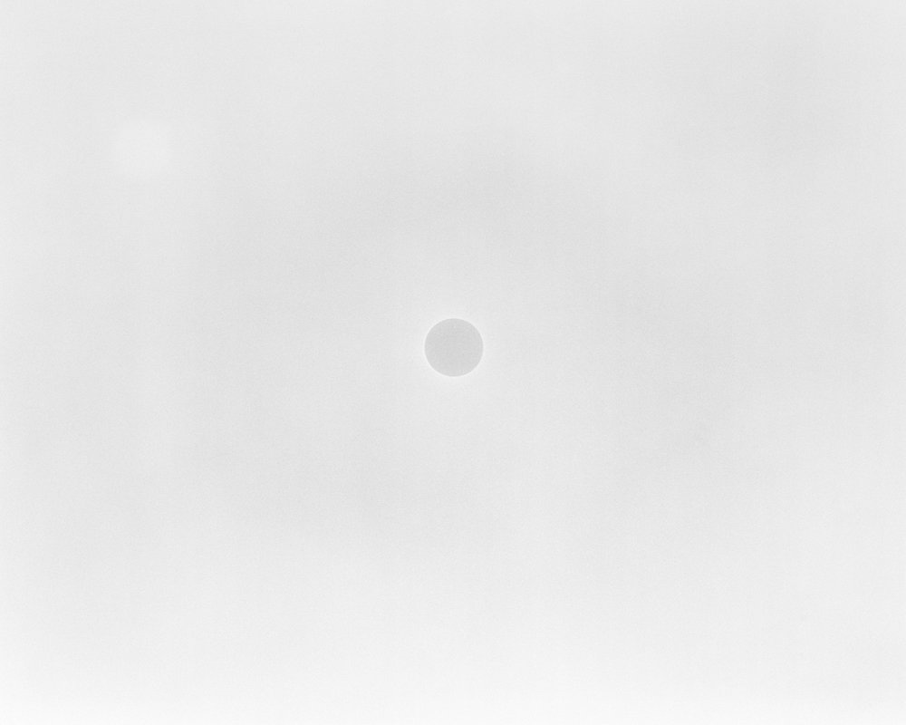 MICHAEL LUNDGREN  A Positive Hole, 2003  Gelatin Silver Print  Available sizes 20 x 24 in, ed. 10 + 2AP 32 x 40 in, ed. 3 + 1AP