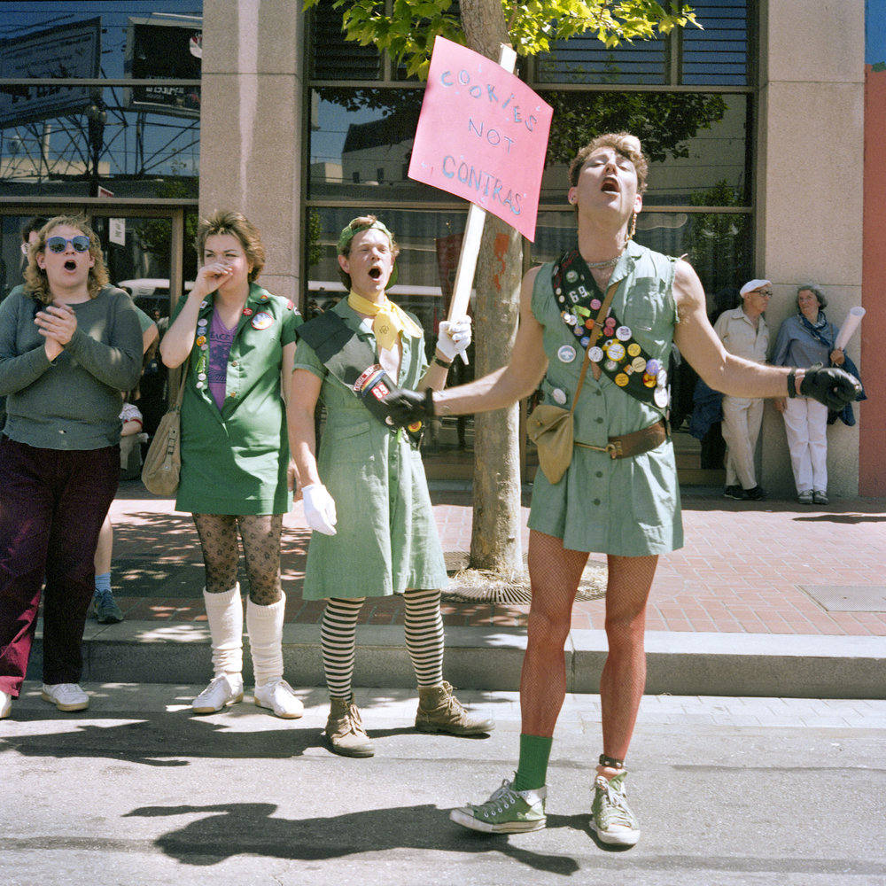 Delaney_Cookies not Contras, Peace, Jobs and Justice Parade, 1986.jpg