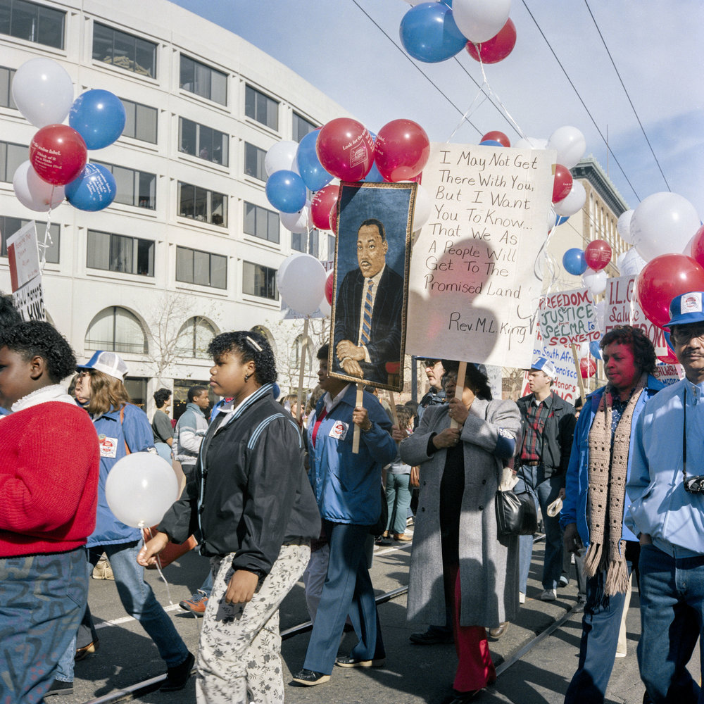 Delaney_I May Not Get There, First Martin Luther King Day Parade,1986.jpg