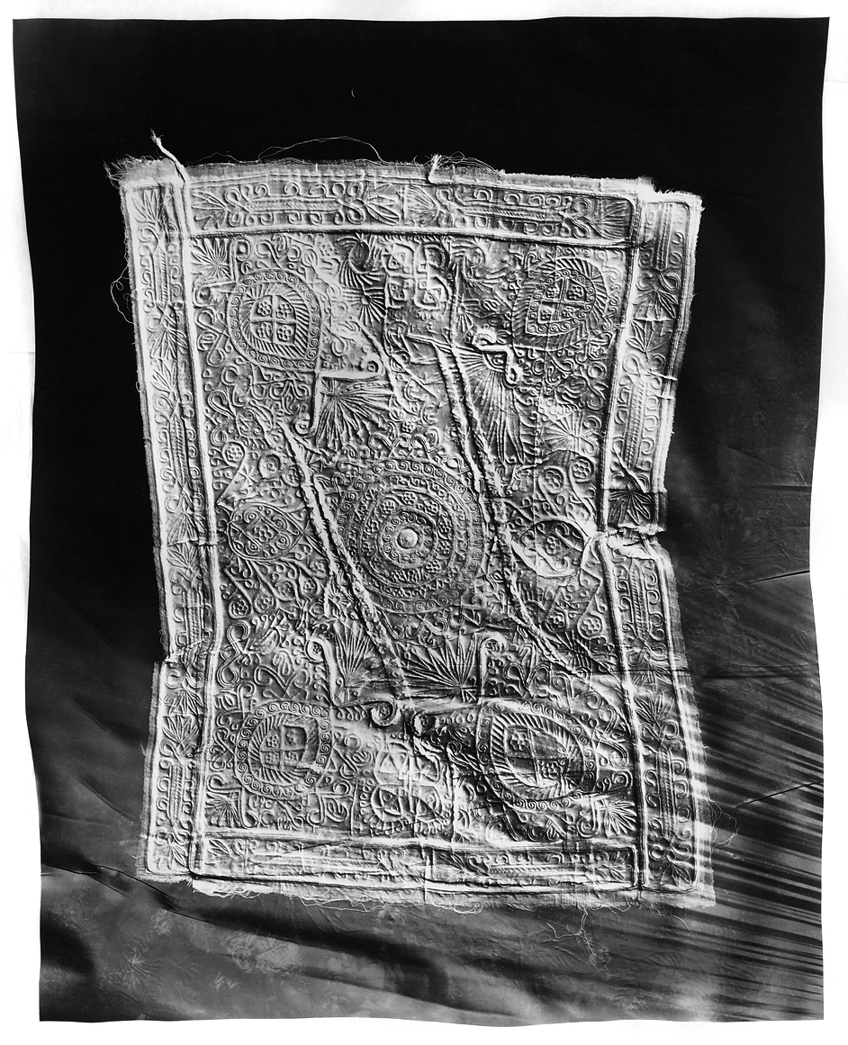 KLEA MCKENNA  Artifact #7,  2018 Photographic relief. Unique photogram on gelatin silver fiber paper. 41 x 33 in