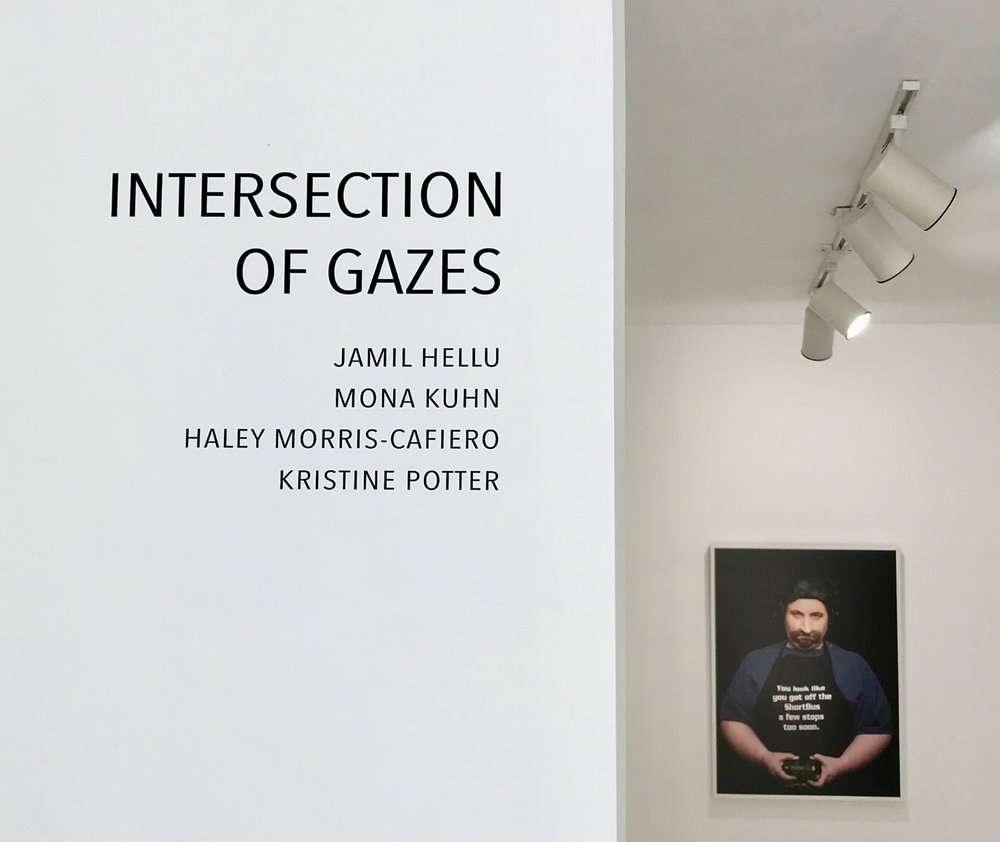 INTERSECTION OF GAZES Jamil Hellu, Mona Kuhn, Haley Morris-Cafiero, Kristine Potter September 5 - October 27, 2018