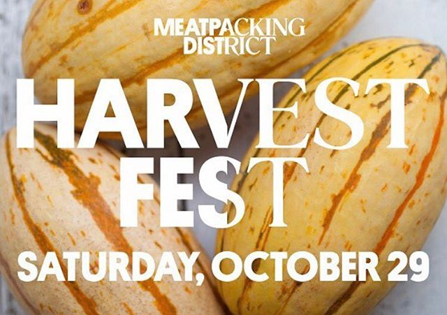 This Saturday @fgbbq will be serving up some delicious food at the @meatpackingny Harvest Fest!!! Come by💪#harvestfest #harvestfestival2016 #harvestfestival #harvestfestny