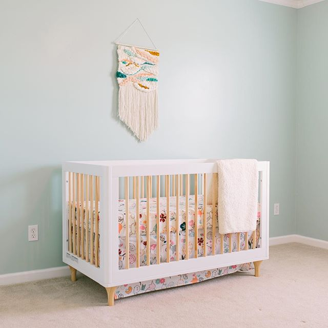 Happy Mother's Day to me... Jesse put Annie's crib together this afternoon.👏🏻👏🏻👏🏻 Less than 10 weeks until we meet our girl and things are starting to get real. 💛 #anniemoonallison