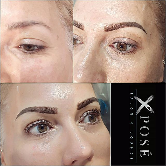 Do you have a more active lifestyle or looking for a longer lasting and/or more dramatic brow?. The Ombre brow is a excellent option.The above will still fade up to 50% but the final result will be a longer lasting lasting brow.  250-734-2934 www.xcessoreyes.com  #xcessoreyes #xposesalon #yyjbeauty #yyjmicroblading #yyj #yyjbrows #nanaimo #microbladed  #cowichanbc #vanisle #nanaimohair  #duncanbc #courtenaybc #comoxbeauty #parksvillebc #langfordbeauty #langfordbc #oakbayhair #oakbaylashes #oakbaybeauty #qualicumbc #shawniganlakebc #vibeauty #victoriabeauty #victoriabc #3Dbrows #microbladed #eyebrows  #microshadedbrows #browsonpoint #tattoos