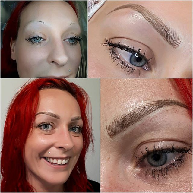 A real game changer for this super cool and beautiful lady! 😚 #Xcessoreyes #permanentmakeup #nanaimobeauty #microbladed #nanaimobrows #yeg #microblading #yyjbeauty #yyjhair #nanaimo #langfordbeauty #langfordbc #courtenaybc #campbellriverbc #portalberni #vibeauty #nanaimohair #yyjmicroblading #yyjbeauty #nanaimobc #yyj #victoriabeauty #victoriabc
