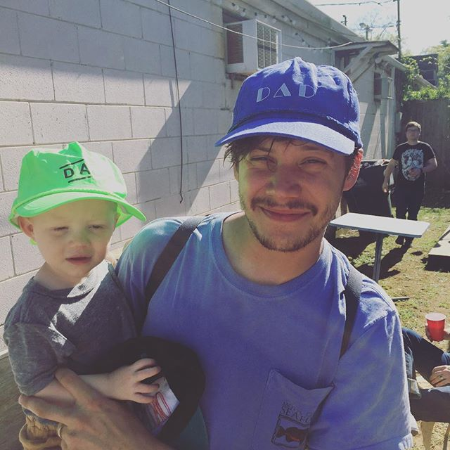 Can you feel that dad karma? It's all around you regardless of you notice it. OG dad in the wild.  This kid was born the day dad hat was created. We are the same age and we all have #dads #sonnyday#sonny life way better then #sunnydelite