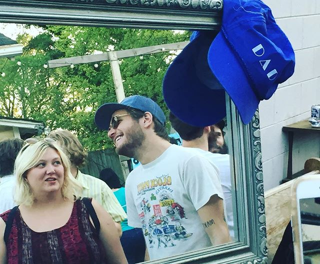 Just a couple of dad lovers in the mirror #maninthemirror #womeninthemirror #dadhats#heartofgoldhatsofdad2016 #rsd16