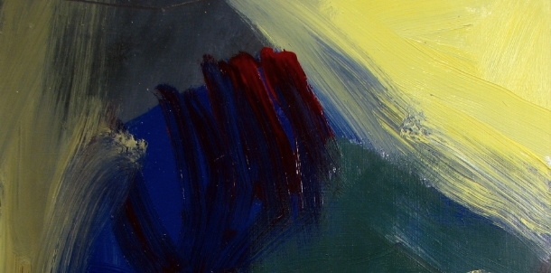(detail of #121201, 2008, oil on paper, from the 1212s series.)