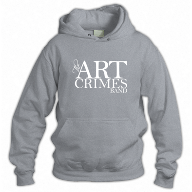THE ART CRIMES BAND HOODIE. Available in various colors and sizes. Ships worldwide.  CLICK TO BUY @ DIZZYJAM