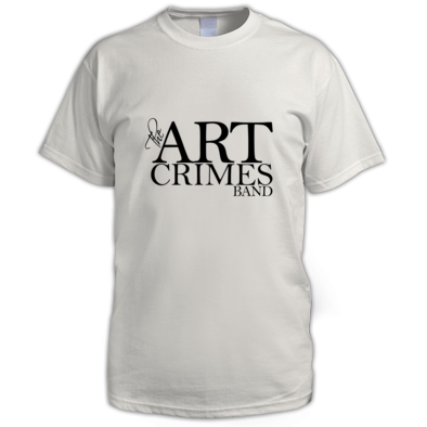 THE ART CRIMES BAND BLACK LOGO MEN'S. Available in various colors and sizes. Ships worldwide.  CLICK TO BUY @ DIZZYJAM