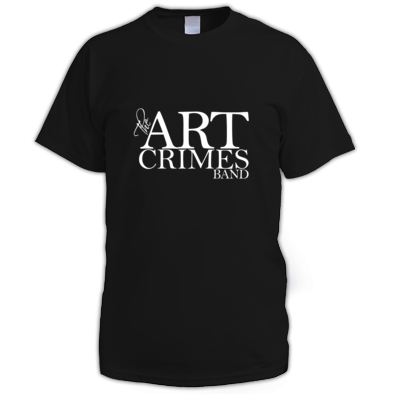 THE ART CRIMES BAND WHITE LOGO MEN'S. Available in various colors and sizes. Ships worldwide.  CLICK TO BUY @ DIZZYJAM