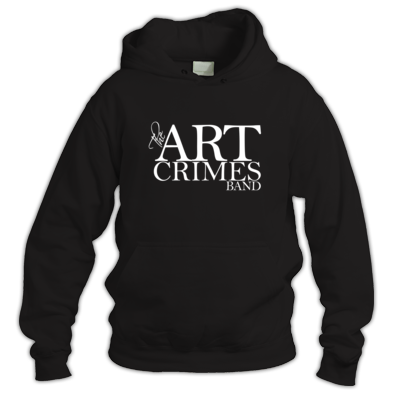 THE ART CRIMES BAND LOGO HOODIE. Available in various colors and sizes. Ships worldwide.  £34.99  CLICK TO BUY @ DIZZYJAM