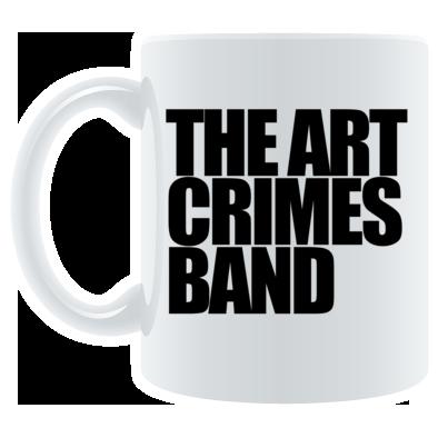 THE ART CRIMES BAND MUG. Ships worldwide  £9.99  CLICK TO BUY @ DIZZYJAM