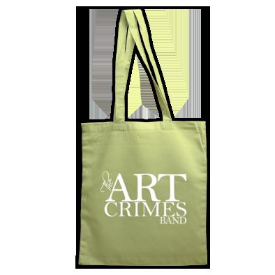 THE ART CRIMES BAND LOGO TOTE. Ships worldwide  £14.99.  CLICK TO BUY @ DIZZYJAM