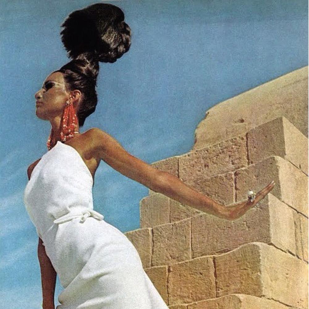 Henry Clarke for @voguemagazine, 1965