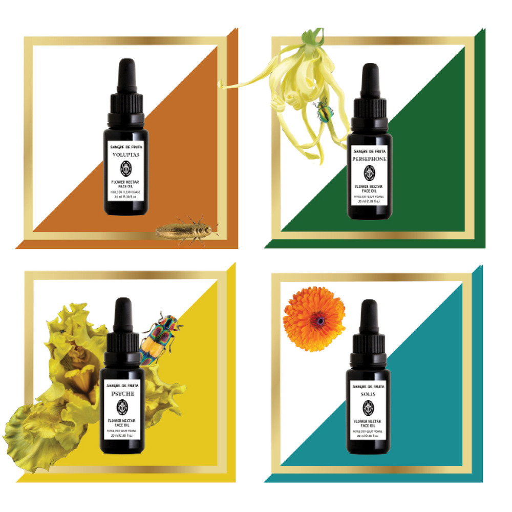 Flower Nectar Face Oil Collection