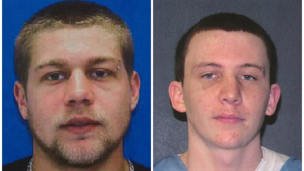 Scott Patrick Lawrence (left), and Tyler Scott Testerman;  Photo: Aberdeen Police Department