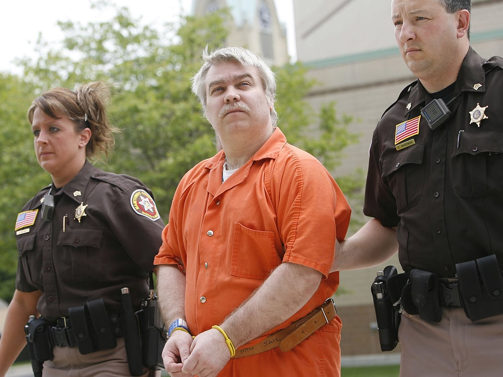 Steven Avery;  Photo: AP/stevenavery.com
