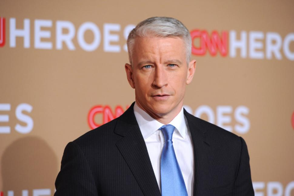 Anderson Cooper; Photo: Frazer Harrison/Getty