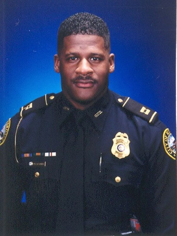 Major Greg Barney;  Photo: Riverdale PD