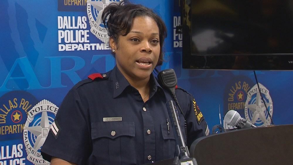 Officer Cassie Dotsy;  Photo: WFAA/wfaa.com