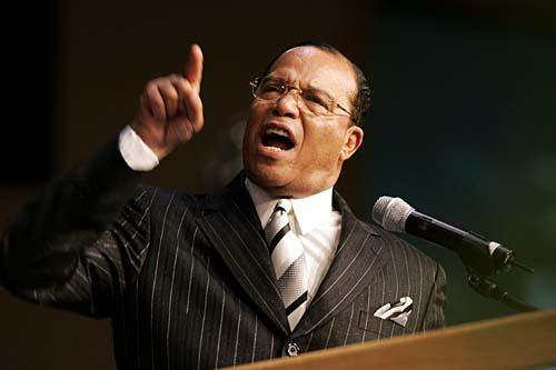 Louis Farrakhan; Photo: Detroit News/Clarence Tabb, Jr.